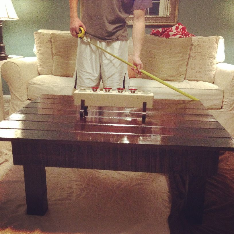 Upscale Pallet Coffee Table