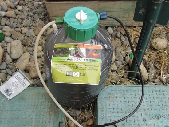 Low Cost Fertigator