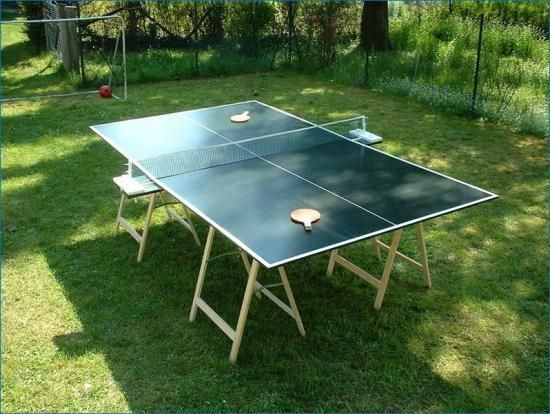 Build A Ping Pong Table