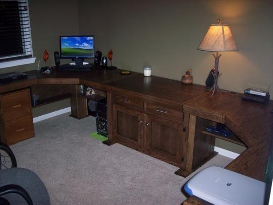 3 Piece Office Desk