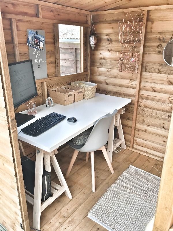 Converting Garden Shed to Home Office