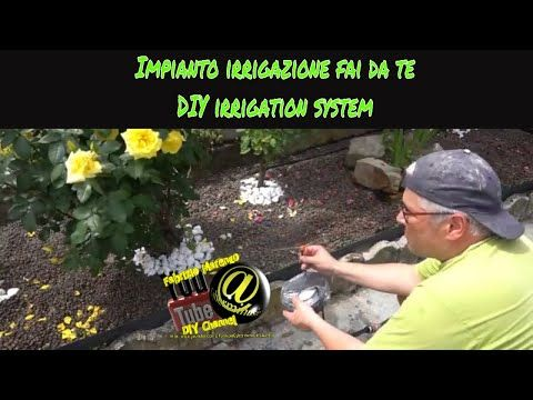 How to install DIY automatic drip Irrigation system